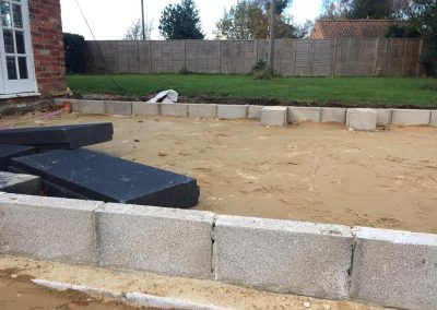 Brickwork in Lincolnshire